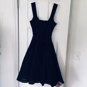 Nanette Lepore Cotton Eyelet Summer Dress